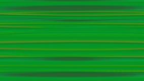 水平的被变形的抽象线 股票录像