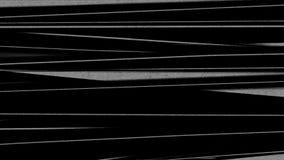 水平的被变形的抽象线 影视素材