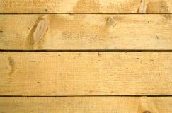 从水平的被绘的木板条特写镜头的背景 库存照片