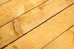 从水平的被绘的木板条特写镜头的背景 免版税库存照片
