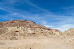 平的阿塔卡马沙漠 库存图片