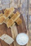 平的面包条 免版税库存图片