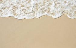 平稳的沙子 免版税库存图片