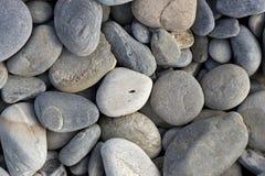 平稳的溪石头 库存图片
