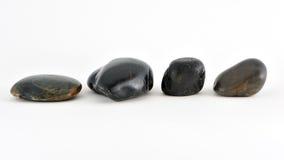 平稳的石头 免版税库存照片