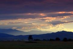 平衡农村风景的夏天 免版税图库摄影