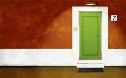 平衡前房子 免版税库存图片