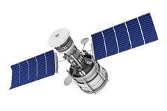 平衡卫星天空的通信 免版税图库摄影