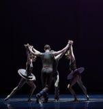 平衡古典芭蕾` Austen汇集` 免版税库存图片