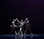 平衡古典芭蕾` Austen汇集` 库存照片