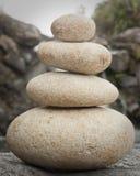 平衡堆岩石 图库摄影