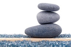 平衡岩石或禅宗石头 免版税库存照片
