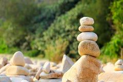 平衡岩石 免版税图库摄影