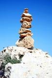 平衡岩石 库存图片