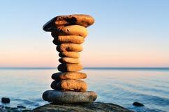 平衡操作 免版税库存照片
