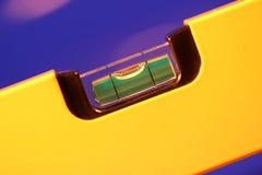 平衡泡影级别黄色 免版税库存图片