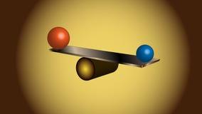平衡球。 免版税图库摄影