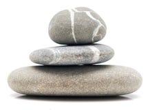 平衡的小卵石 库存照片