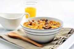 平衡的早餐 库存图片