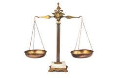 平衡的标度 免版税图库摄影