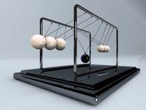 平衡的球 免版税库存图片
