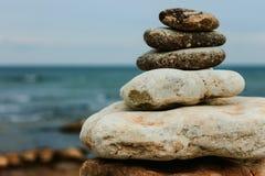 平衡的禅宗 库存图片