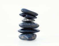 平衡的被腐蚀的岩石水 免版税库存照片
