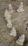 平衡石头 库存图片