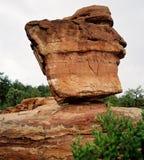 平衡科罗拉多岩石 免版税图库摄影