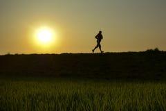 平衡跑步 免版税库存照片