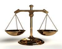 平衡金子 皇族释放例证