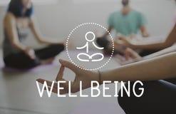 平衡医疗保健健康生活凝思 图库摄影