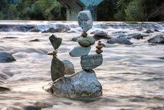 平衡tris 库存图片