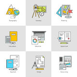 平象,勘测,训练,建筑和设计 图库摄影