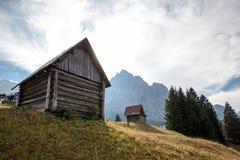 平静的地方在阿尔卑斯 免版税图库摄影