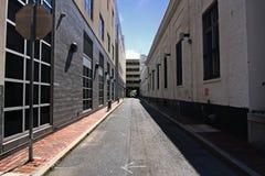 平静的城市运输路线 库存图片