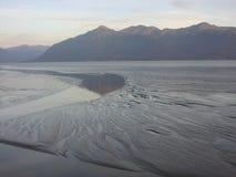 平静的海湾 库存照片