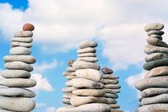 平静的石头 图库摄影