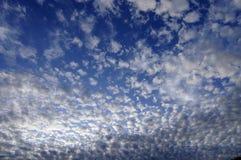 平静的cloudscape 免版税库存照片