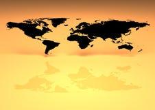 平面世界 图库摄影