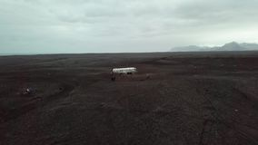 平面击毁在冰岛