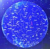 平面球形图 免版税库存图片