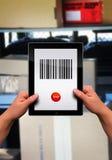 平面的个人计算机片剂 免版税库存图片