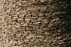 平面的批次岩石 库存图片