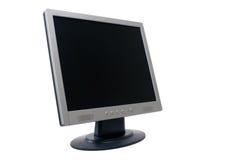 平面的监控程序面板tft 库存照片