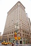 平面的铁大厦,曼哈顿,纽约。 免版税库存图片