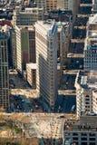 平面的铁大厦, NYC。 免版税库存图片
