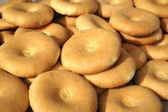 平面的面包 库存照片