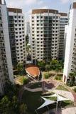 平面的hdb新加坡 库存图片