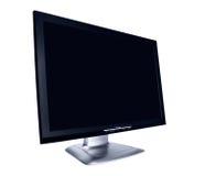 平面的lcd现代显示器屏幕 免版税库存照片